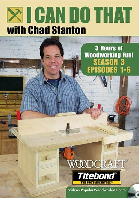 I Can Do That with Chad Stanton - Season 3 -Episodes 1-6 DVD (9781440352256)