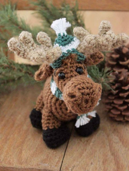 How to Crochet The Merry Moose with Megan Kreiner DVD (634077002775)