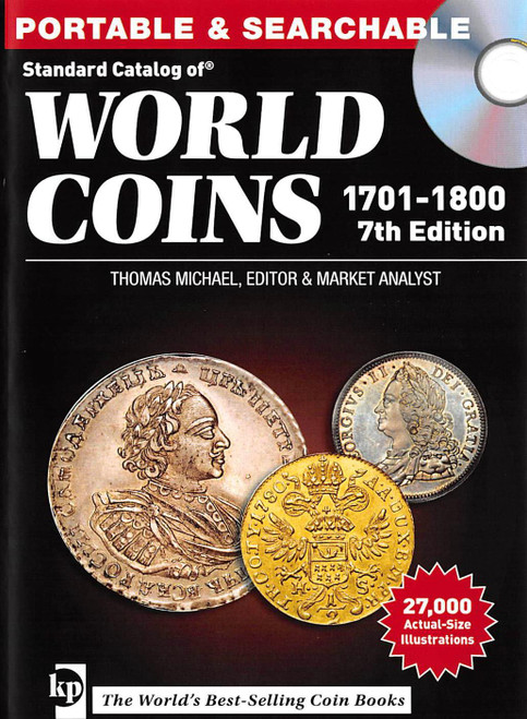 Standard Catalog of World Coins 1701-1800 CD by Thomas Michael 7th Edition (9781440247422)