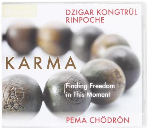 Karma - Finding Freedom in This Moment Dzigar Kongtrul Rinpoche Pema Chödrön CD (9781604079340)