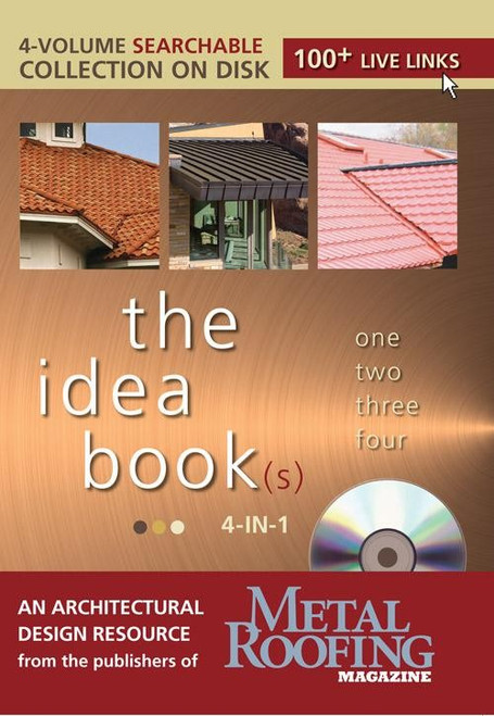 the idea book(s) 4-in-1 By The Editors of Metal Roofing Magazine CD (9781440205118)