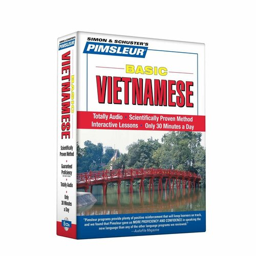 Pimsleur Basic Vietnamese Lessons 1-10 Audiobook CD (9780743550833)