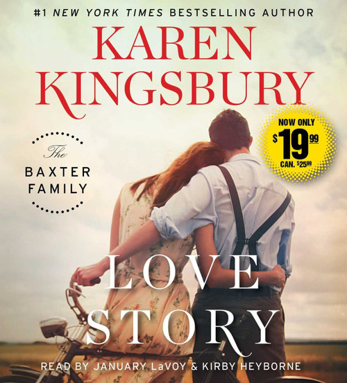 Love Story - A Novel by Karen Kingsbury - Audiobook Unabridged CD (9781508249061)
