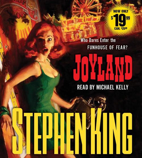 Joyland by Stephen King, Audio CD – Audiobook, CD, Unabridged (9781508218579)