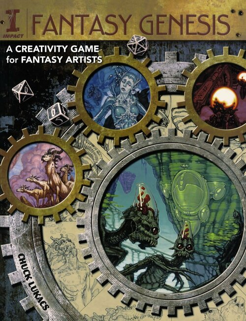 Fantasy Genesis - A Creativity Game for Fantasy Artists by Chuck Lukacs - PB (9781600613371)