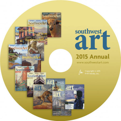 Southwest Art 2015 Annual - CD - 12 Issues (9781440347948)