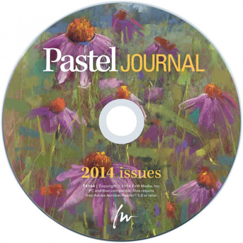 Pastel Journal Magazine 2014 Annual CD - 6 Issues (9781440342592)