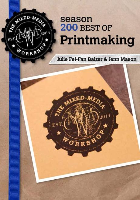 The Mixed-Media Workshop with Julie Fei-Fan Balzer & Jenn Mason Season 200 - DVD (9781632501745)
