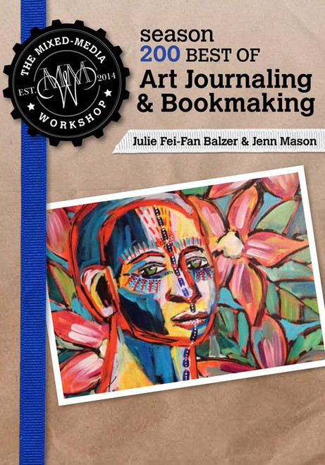 The Mixed-Media Workshop Best Of Art Journaling & Bookmaking -Jenn Mason - DVD (9781632501752)
