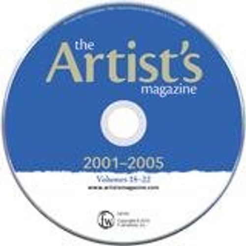 The Artist's Magazine Five Year Archive 2001-2005 - CD - 60 Issues (9781440312472)