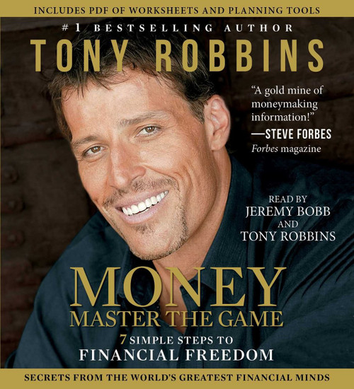 MONEY Master the Game 7 Simple Steps to Financial Freedom Tony Robbins Audiobook (9781442384934)