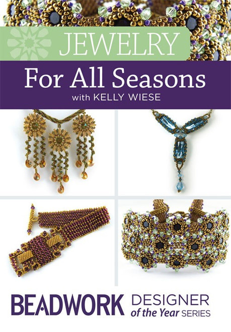 Jewelry for All Seasons with Kelly Wiese - DVD - 2 Disc Set (9781632502858)