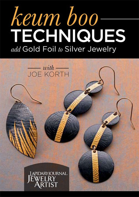 Keum Boo Techniques - Add Gold Foil to Silver Jewelry with Joe Korth - DVD (9781620338643)