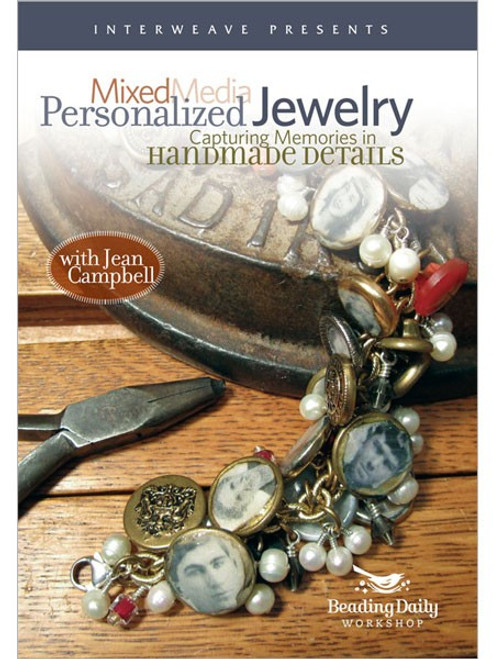 Mixed Media Personalized Jewelry - with Jean Campbell - DVD (9781596684201)