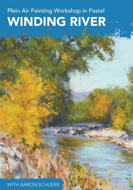 Plein Air Painting Workshop in Pastel - Winding River with AAron Schuerr - DVD (9781440351730)