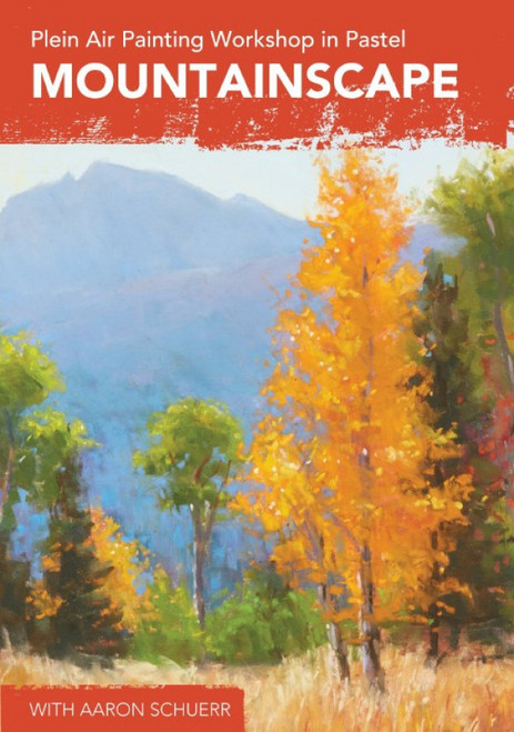 Plein Air Painting Workshop in Pastel - Mountainscape with Aaron Schuerr -DVD (9781440351723)