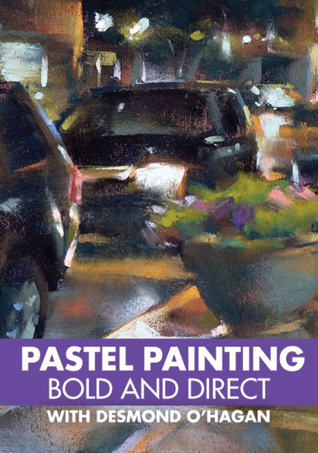 Pastel Painting - Bold and Direct with Desmond O'Hagan - DVD (9781440350153)