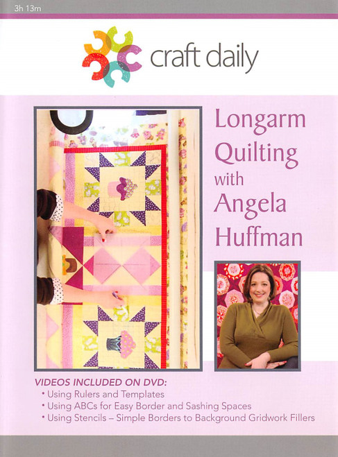 Longarm Quilting with Angela Huffman Vol. 2 - DVD (634077002812)