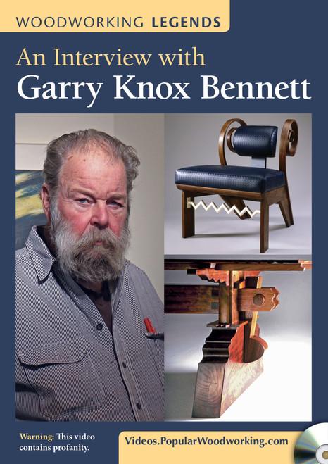 Woodworking Legends - An Interview with Garry Knox Bennett - DVD (9781440351938)