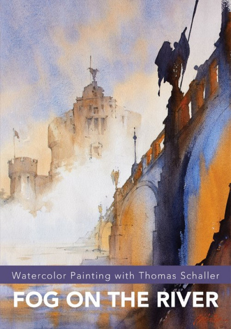 Watercolor Painting with Thomas Schaller - Fog on the River - DVD (9781440353239)