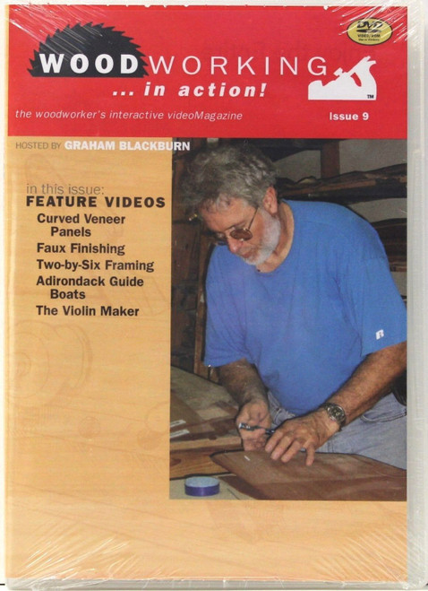 Woodworking in Action with Graham Blackburn - Issue 9 - DVD (9781440324444)