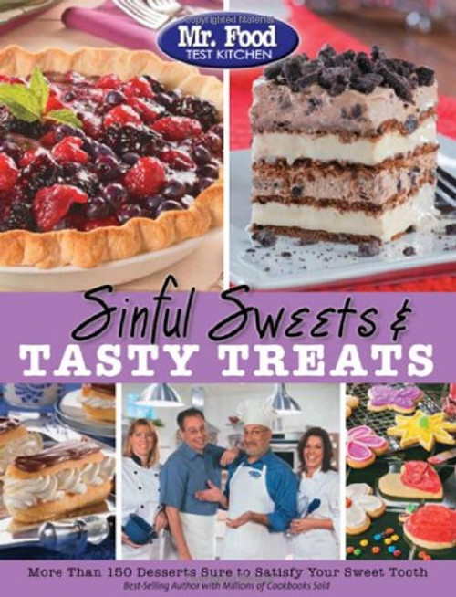 Mr. Food Test Kitchen Sinful Sweets & Tasty Treats - Paperback (9780975539644)