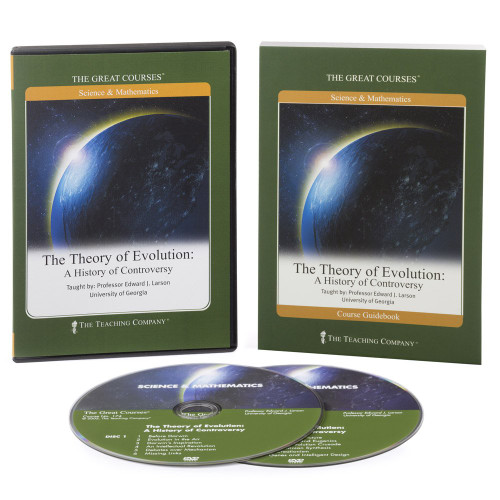 The Theory of Evolution:  (The Great Courses) - A History of Controversy - by Edward J. Larson - DVD