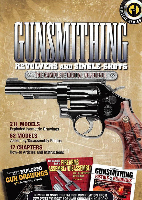 Gunsmithing Revolvers and Single-Shots - The Complete Digital Reference - CD (9781440214431) Front