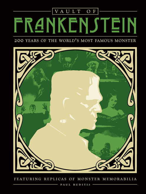 Vault of Frankenstein - 200 Years of the World's Most Famous Monster by Paul Ruditis- Hardcover (9780760363171) Front