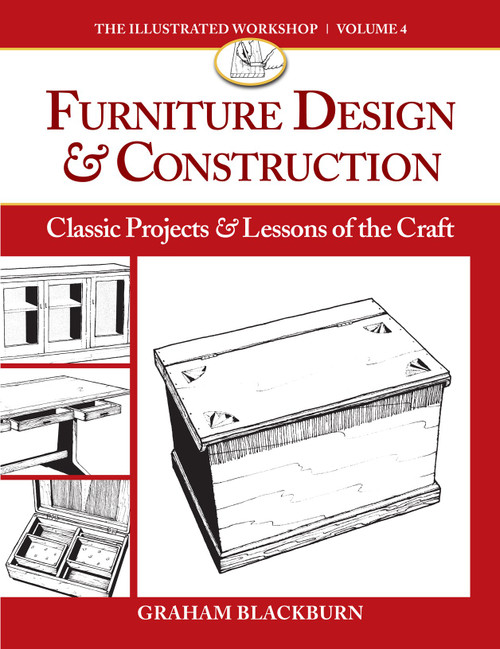 Furniture Design & Construction Classic Projects & Lessons of the Craft Paperback by Graham Blackburn - Paperback