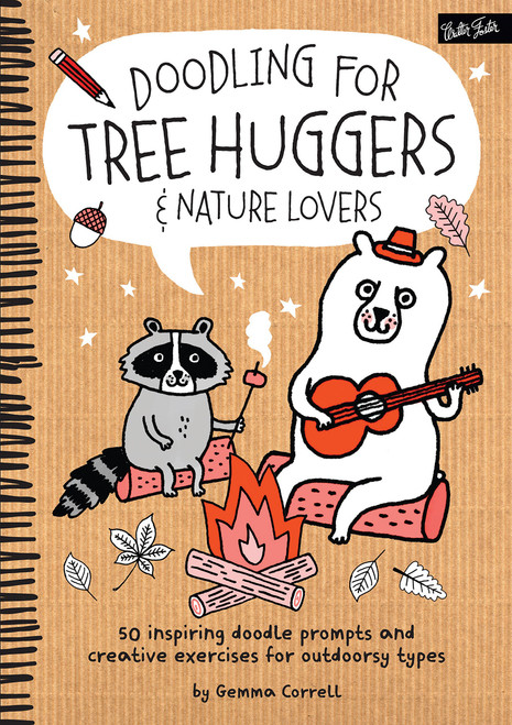 Doodling for Tree Huggers & Nature Lovers by Gemma Correll - Paperback (9781633220522) Front