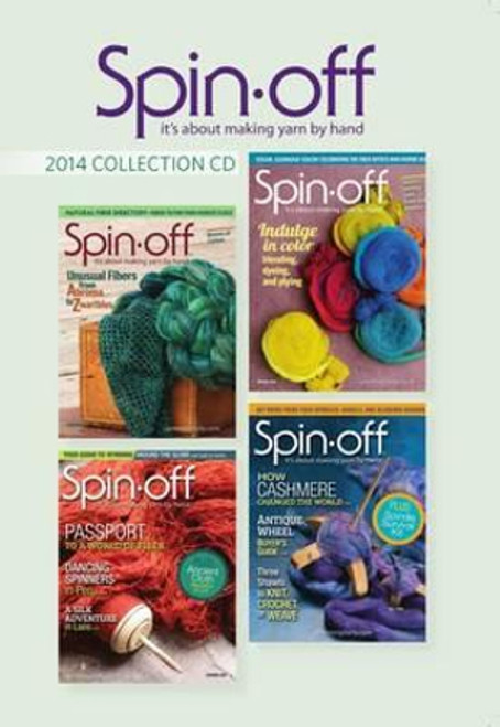 Spin-off Magazine 2014 Collection CD - 4 Issues (9781632505460)