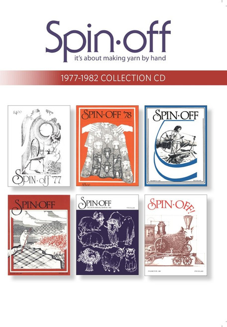 Spin-Off Magazine 1977-1982 Collection CD - 6 Issues (9781620336625)
