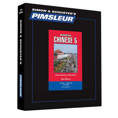 Pimsleur Chinese (Mandarin) Level 5 - 16 CDs (9781442382794)