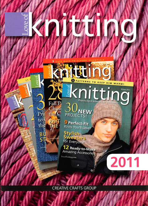 Love of Knitting 2011 Collection CD - 4 Issues