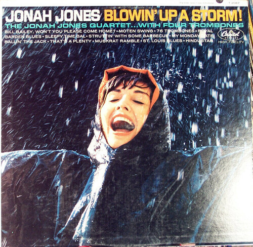 The Jonah Jones Quartet . . . With Four Trombones (Blowin' Up A Storm) Vinyl LP Record Album Capitol T-2087