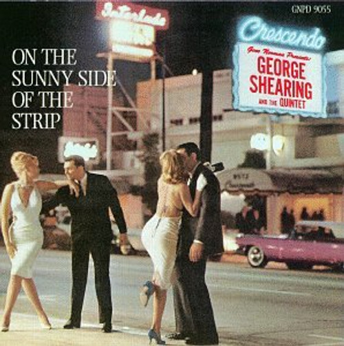 George Shearing And The Quintet (On The Sunny Side Of The Strip) Vinyl LP Record Album Capitol T1416