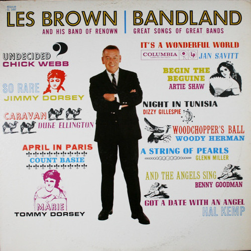 Les Brown And His Band Of Renown (Bandland Great Songs Of Great Bands) Vinyl LP Record Album Columbia CL 1497