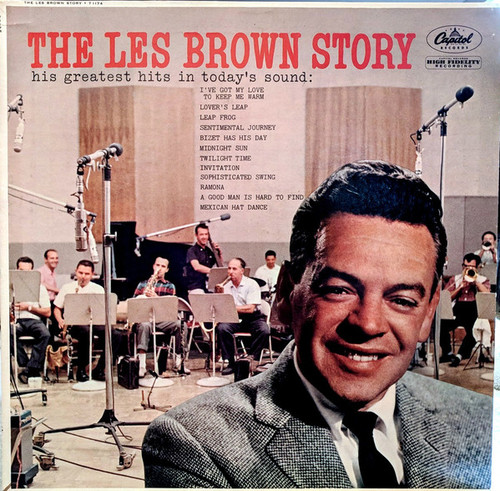 Les Brown And His Band Of Renown (The Les Brown Story) Vinyl LP Record Album Capitol T-1174