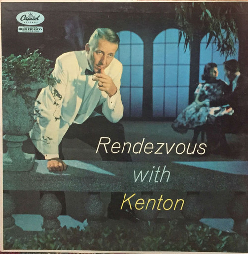 Stan Kenton ‎– (Rendezvous With Kenton) Vinyl LP Record Album Capitol T-932