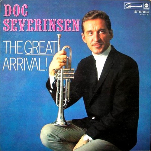 Doc Severinsen (The Great Arrival!) Vinyl LP Record Album Command RS 927 SD