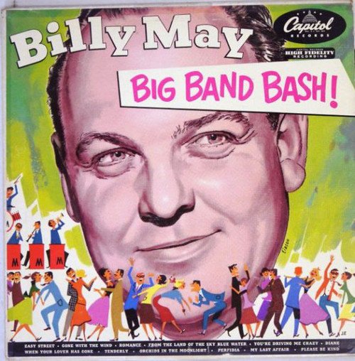 Billy May And His Orchestra (Big Band Bash) Vinyl LP Record Album Capitol T-329