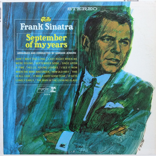 Frank Sinatra (September Of My Years) Vinyl LP Record Album Reprise FS-1014