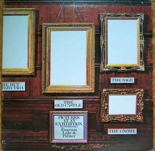 Emerson, Lake & Palmer ‎(Pictures At An Exhibition) Vinyl LP Record Album Cotillion ELP-66666