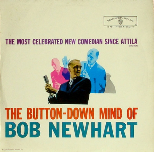 Bob Newhart (The Button-Down Mind Of Bob Newhart) Vinyl LP Record Album Warner Bros. W-1379