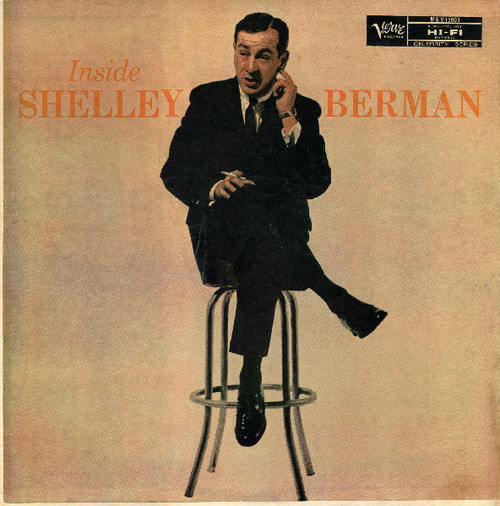 Shelley Berman (Inside Shelley Berman) Vinyl LP Record Album Verve MG V-15003