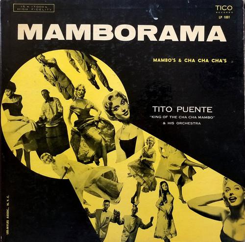 Tito Puente & His Orchestra – Mamborama Vinyl LP Record Album Tico Records LP-1001