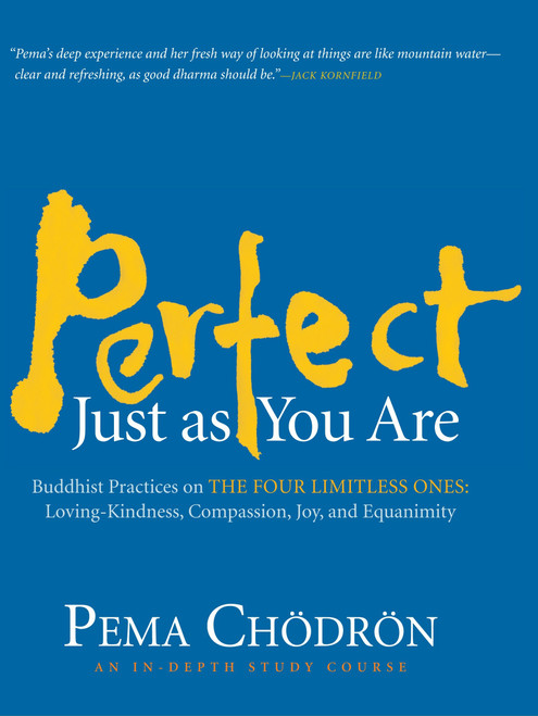 Perfect Just as You Are: Buddhist Practices on the Four Limitless Ones--Loving-Kindness, Compassion, Joy, and Equanimity by Pema Chodron - Audiobook 8 CDs (9781590306284)