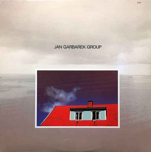 Jan Garbarek Group (Photo With Blue Sky, White Cloud, Wires, Windows And A Red Roof) Vinyl LP Record Album ECM-1-1135