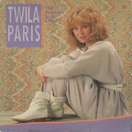 Twila Paris ‎(The Warrior Is A Child) Vinyl LP Record Album Milk & Honey ‎MH-1048